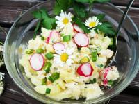 Letni bramborový salát